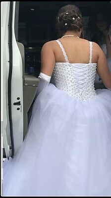 Deb Or Wedding Dress Size 12 , Corset Back