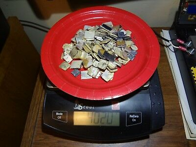 Clean Silver Electrical Contact Lot Scrap  For Recovery 402.0 Grams
