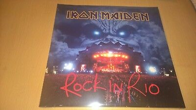 IRON MAIDEN - Rock In Rio -  LP - HEAVY METAL - 3 LP SET 2017 ISSUE