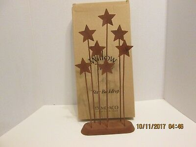 """Willow Tree  Star Backdrop for Nativity Set Great Condition 13 1/2"""" tall w/ Box"""