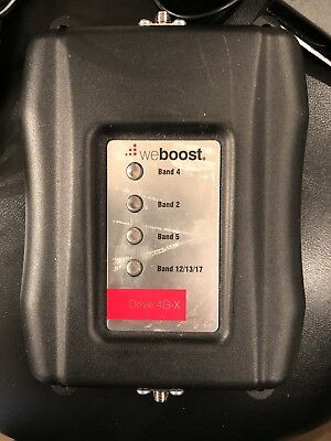 weBoost (Wilson) Drive 4G-X Wireless Car Cell Phone Signal Booster | 47001OR