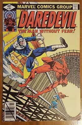 Daredevil #161 (1979, Marvel) Bullseye Black Widow Frank Miller Netflix