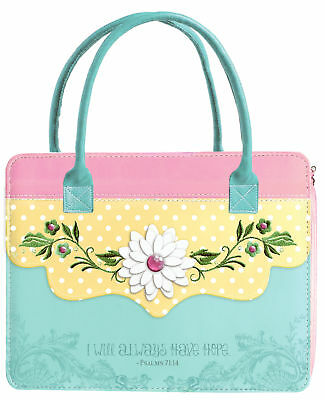 Bible Cover-Purse Sunshine Daisies-X Large (#24415)