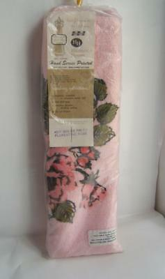 Vintage Sears Harmony House Pink Bathroom Rug New In Package