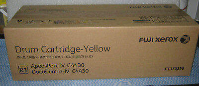 Genuine Fuji Xerox Yellow Drum Cartridge R1- CT350898 ApeosPort - IV C4430