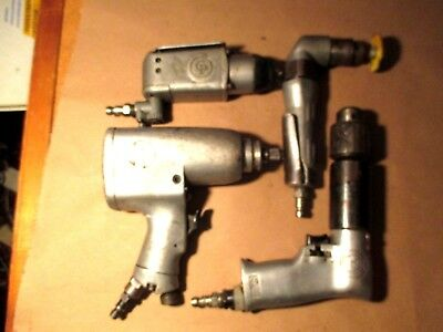 Used Pneumatic Air Tools 4 Different Tools