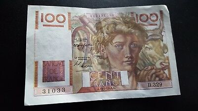 france currency 100 francs m904