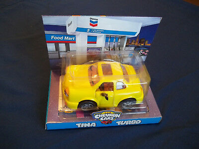 The Chevron Cars Tina Turbo Collectable  - BRAND NEW NIB