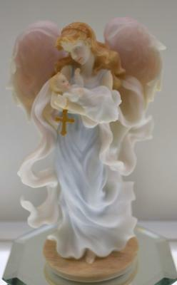 Seraphim Angel BAPTISM ANGEL 84465 2002 NIB FREEusaSHIP