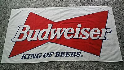 "VINTAGE BUDWEISER BUD BEACH TOWEL FROM WOODSTOCK 1999 -  BRAND NEW - 30"" x 56"""
