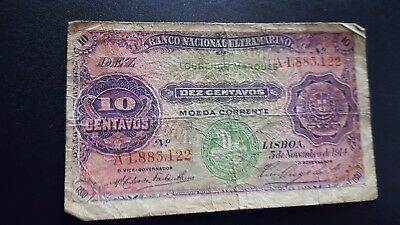 laurenco marques currency 10 centavos m914
