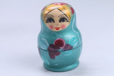 Nesting Doll Russian Doll Matryoshka Hand Painted Moscow Traditional bb572