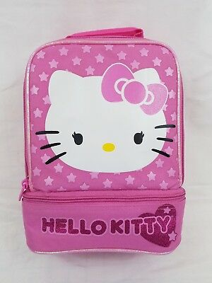 Hello Kitty Kids Thermos Lunchbox Lunch Bag Back to School