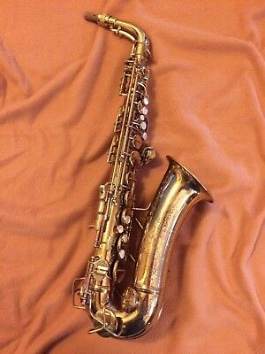 1946 Conn 6M Alto Saxophone, New Pads, Rolled Tone Holes, Lady in Window w/orig.