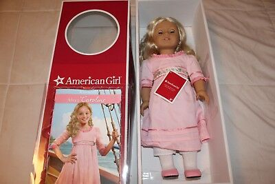 American Girl Caroline With Original Outfit and accessories in box  Retired