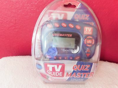 TV Guide Quiz Master New Factory Sealed 2004 Model 60-2727 Christma