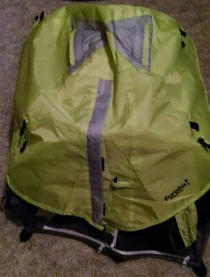 minature Coleman tent 18 by 18 by 18 inches used