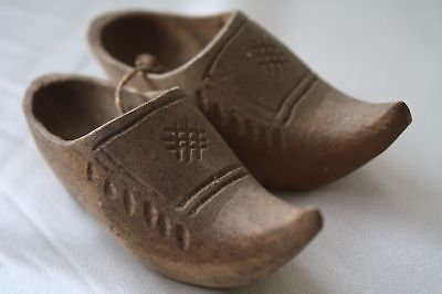 1912 Small Clog Made in Holland at 15th Feb 1912 Real Antique Collection
