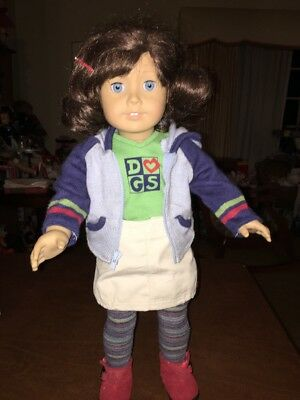 American Girl Lindsey Doll First GOTY In Complete Original Outfit