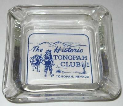 Vintage ashtray - HISTORIC TONOPAH CLUB IN TONOPAH NEVADA. old gold mining town