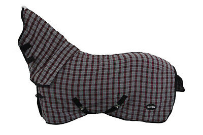 CHONMA  6'0''  New Style Polycotton Monolayer Horse Rug Combo--A05