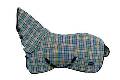 CHONMA   5'9'' New Style Polycotton Monolayer Horse Rug Combo--A10