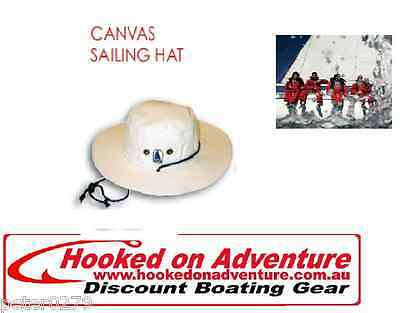 SAILING HAT CANVAN BURKE QUALITY.......Multiple sizes available