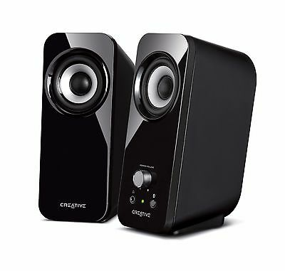 Creative Inspire T12 2.0 Multimedia Speaker System with Bass Flex Technology (IL