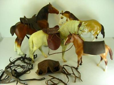 Lot Of Vintage Breyer Horses Traditional & Classic