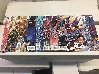 JLA - JUSTICE League OF America #1-10,  DC Comics, FREE SHIPPING
