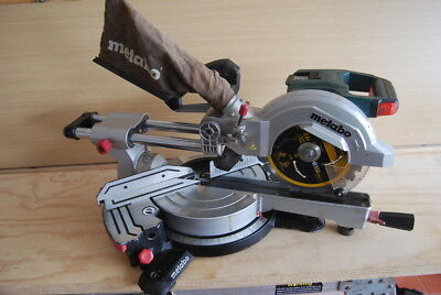 Metabo 18 Volt 216mm Sliding Compound Mitre Saw Skin - KGS 216 LTX SK