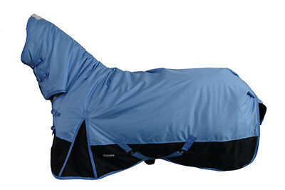 CHONMA 6'0'' 1680D 250G Winter Waterproof BreathableTurnout Horse Rug Combo-A38a