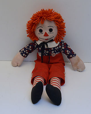 Vintage Raggedy Ann and Andy Doll