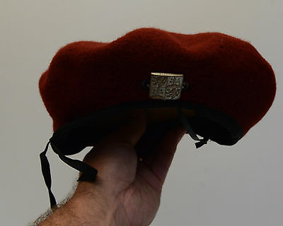 Beret Hat English Pin