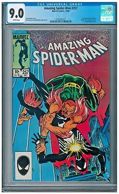 Amazing Spider-Man (1st Series) #257 CGC 9.0 2nd appearance of Puma
