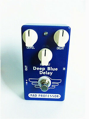 Deep Blue Guitar Effect Pedal Delay And True Bypass