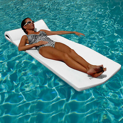 Recreation Pool Float Color Summer Time Fun Lounge Chair Foam Water Proof Adult