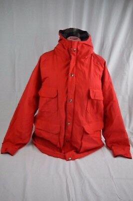 """Vintage Woolrich Womens Red winter Jacket 85% Wool Size XL Made in USA """"BX"""""""