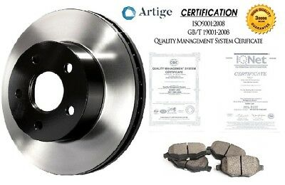 Ford Mondeo MA MB MC 13.8mm Stud 300mm Front Rotors Pads 10/07- on 2128