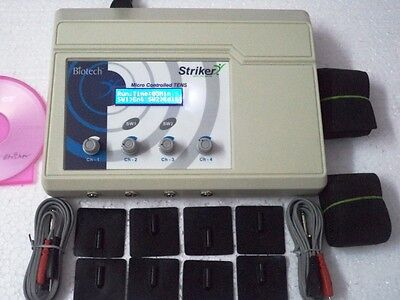 Biotech  4 Channel Electroterapy Physical Therapy Machine , Rtyrt