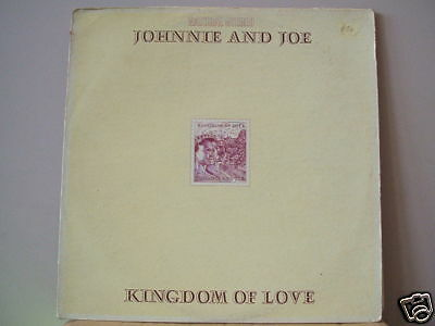 johnnie & joe kingdom of love usa soul gospal vinyl lp