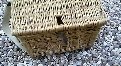 Old Fishing Basket Ideal For Children VGC Collection Only.