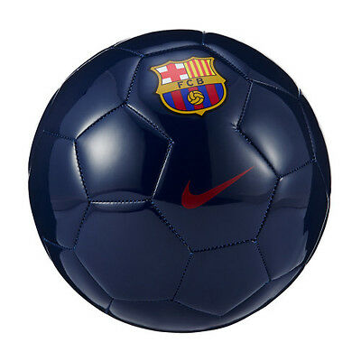 BARCELONA SUPPORTERS FOOTBALL. (BNWT Authentic nike  Size 5 Ball UK