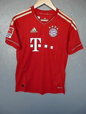 Bayern Munich 33 Gomez Adidas 2011 Home Football Shirt Trikot Sz 13-14Y (280)