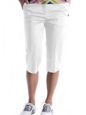 Birdee Golf Ladies Slide On Short - White