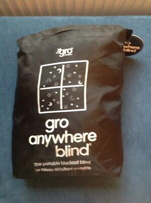 gro anywhere blind Good Used Condition