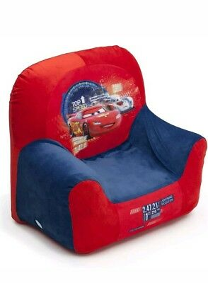 New Delta Children Disney Pixar Cars Kids Inflatable Club Chair For Playroom