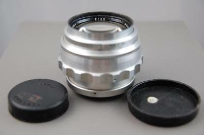 JUPITER 9 2/85 Silver Rare Russian USSR lens M42 S/N 6401267 1964 year!