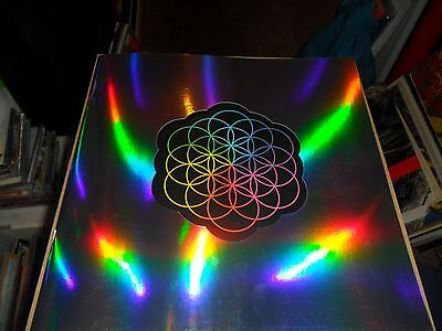 Coldplay Head Full Of Dreams Tour Programme +16 Stickers