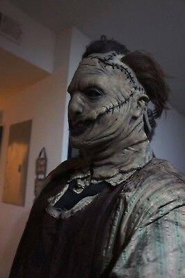 RARE! Leatherface Latex Mask Tommy 3.0 Not Michael Myers or Jason Voorhees